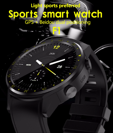 TenFifteen F1 Sports Smartwatch Phone
