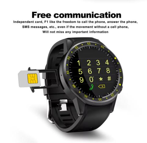 TenFifteen F1 Sports Smartwatch Phone comunicación