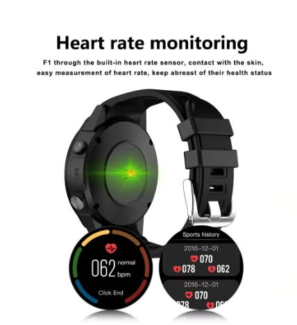 TenFifteen F1 Sports Smartwatch Phone ritmo cardíaco