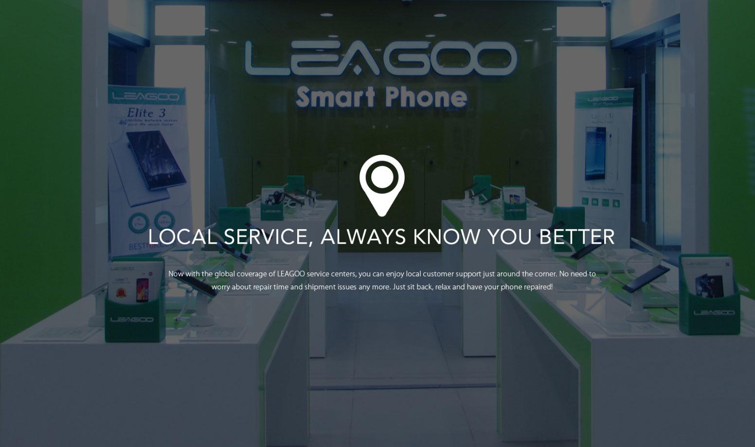 Otro gran movimiento global – LEAGOO establece centros de atención al cliente en Europa y Rusia