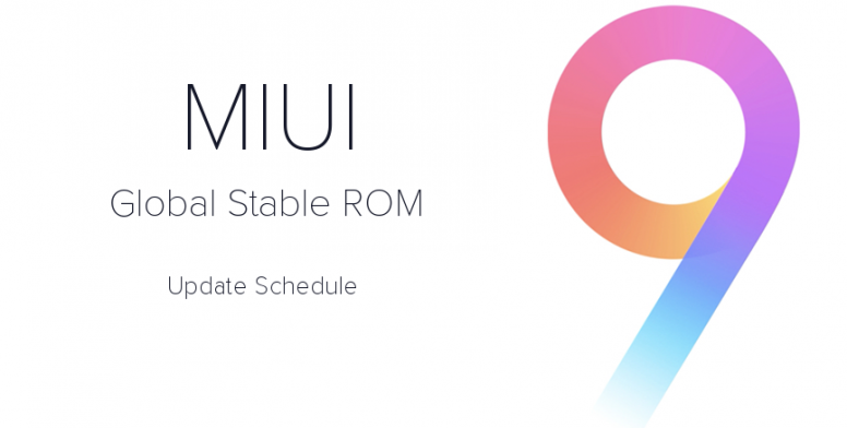 ROM Global Estable MIUI 9.2