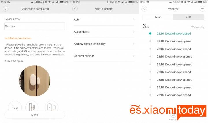 Set Completo Xiaomi Mijia Smart Gateway - Sensor de movimiento para puertas y ventanas Mi Home APP