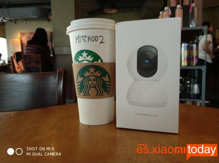 Cámara de vigilancia Xiaomi Mijia Pan Tilt 720P - Especificaciones