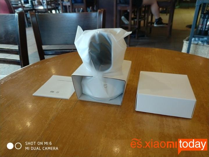 Cámara de vigilancia Xiaomi Mijia Pan Tilt 720P - Contenido del paquete
