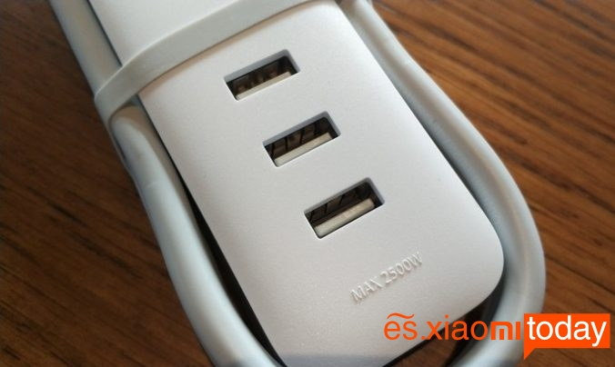 Xiaomi Mijia mini power strip - Puertos USB