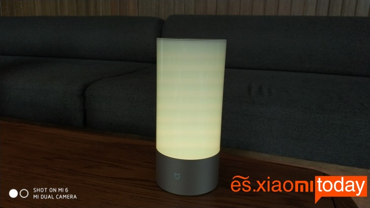 Xiaomi Mijia Bedside Lamp - Gama de colores disponibles