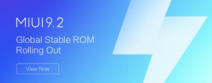 ROM Global Estable MIUI 9.2 - Descarga