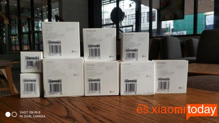 Set Completo Xiaomi Mijia Smart Gateway - 9 productos de seguridad