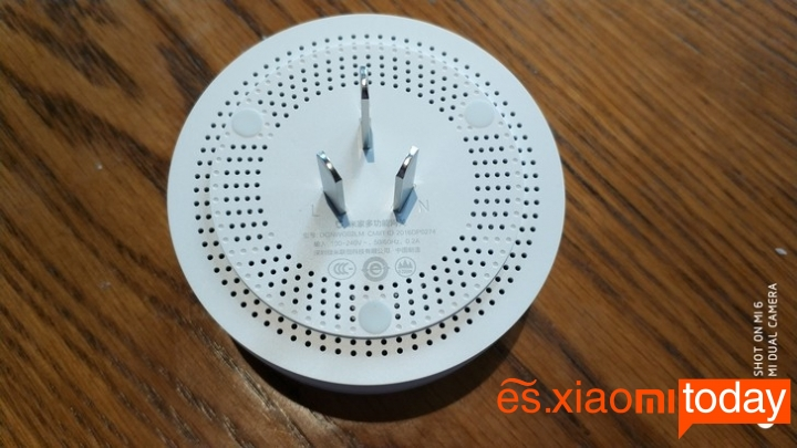 Set Completo Xiaomi Mijia Smart Gateway - Diseño Alarma central multifuncional