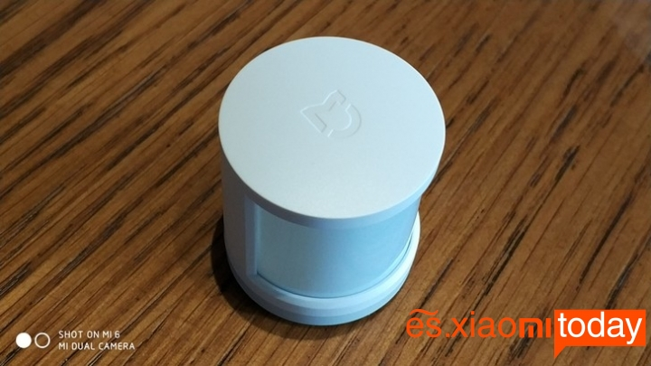 Set Completo Xiaomi Mijia Smart Gateway - Sensor de movimiento parte superior