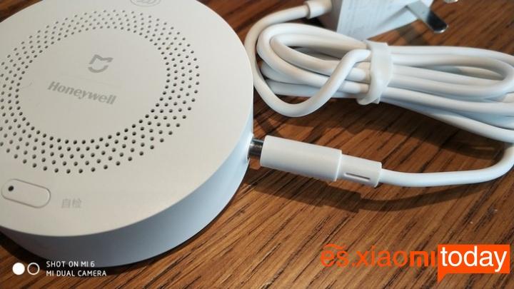 Set Completo Xiaomi Mijia Smart Gateway - Diseño Detector de gas natural