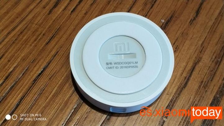 Set Completo Xiaomi Mijia Smart Gateway - Diseño Sensor de temperatura y humedad