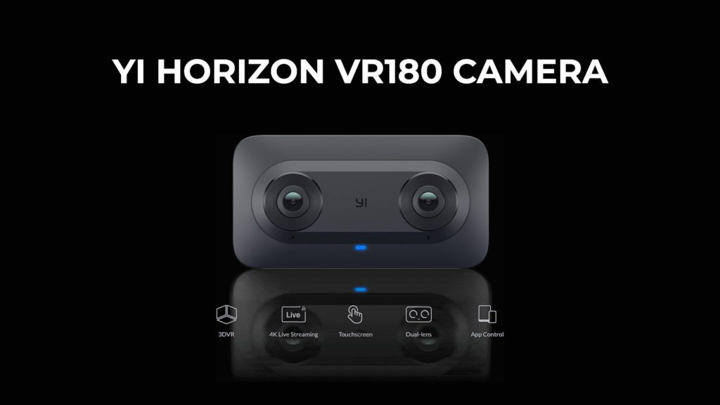 Yi horizon VR 180 CES 2018