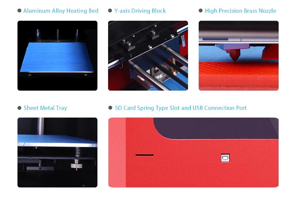 Impresora 3D YITE ET- K1