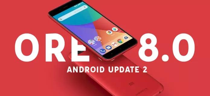 Android Oreo 8.0 para smartphones Xiaomi