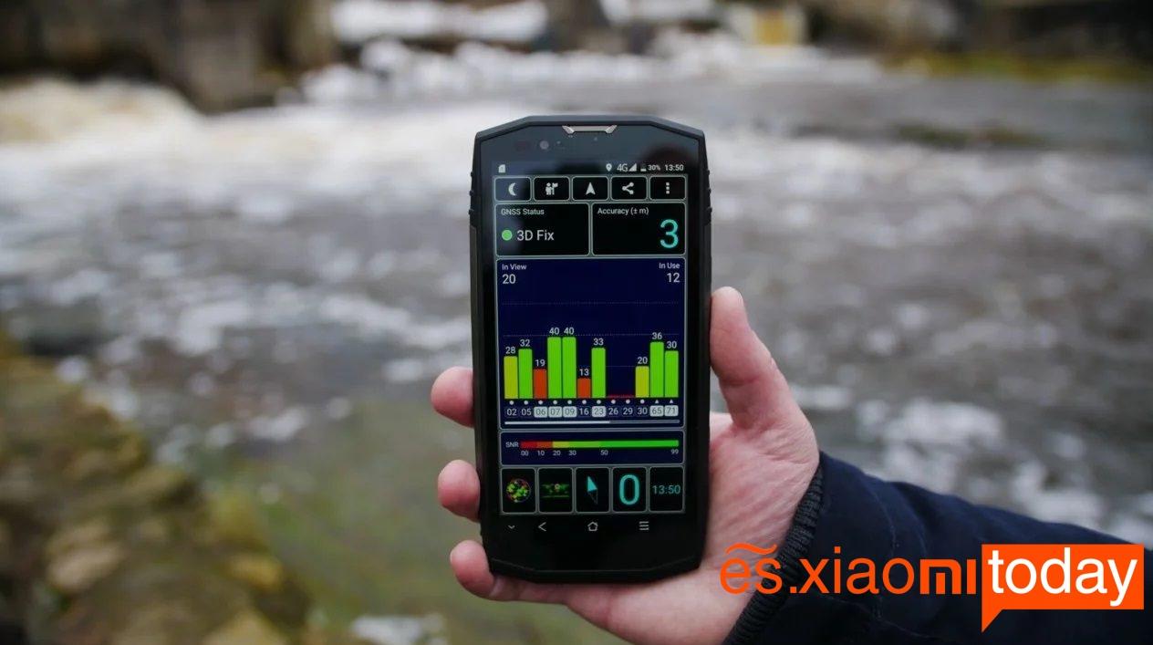 Blackview BV9000 Pro - GPS
