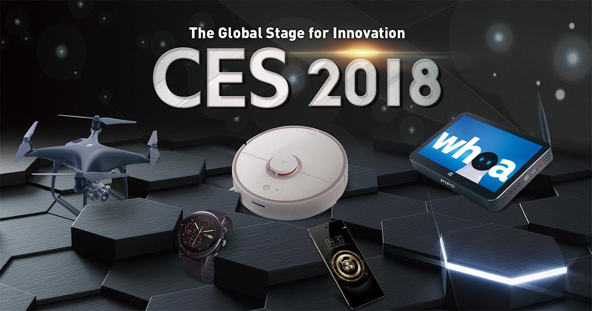 CES 2018 Geekbuying