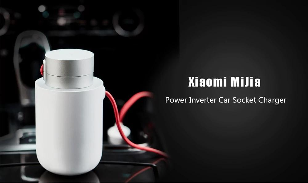 Xiaomi Mijia Power Inverter Car Socket - Cargador inteligente con funciones de zócalo