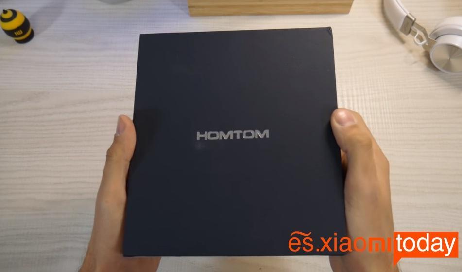 Homtom S9 Plus caja parte frontal