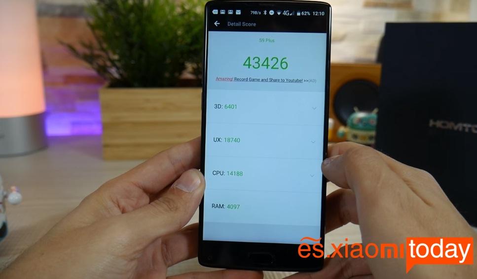 Homtom S9 Plus rendimiento