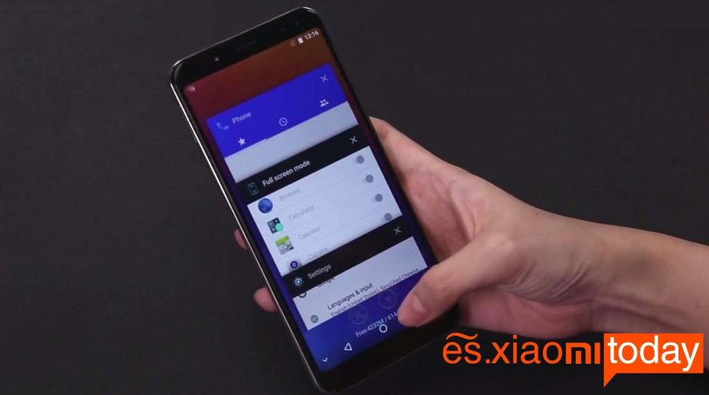 Ulefone Power 3 aplicaciones