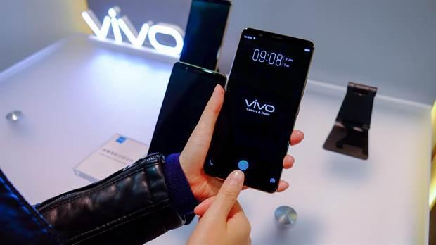 Vivo lanza el primer teléfono con sensor de huellas digitales invisible.