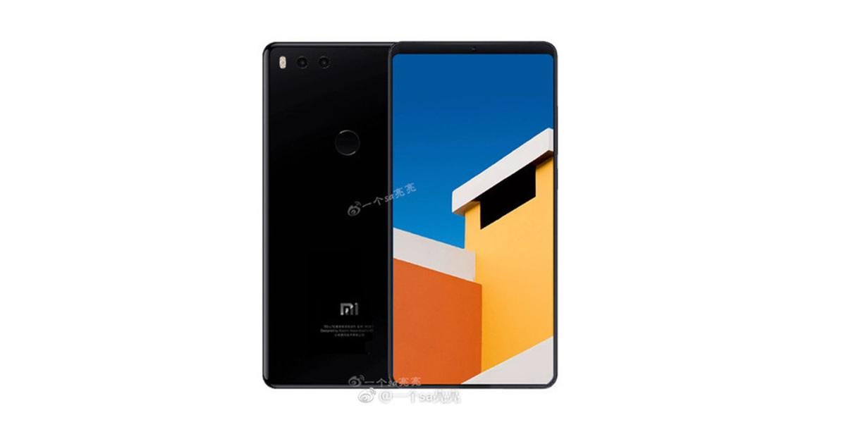 Nuevo render de Xiaomi Mi 7