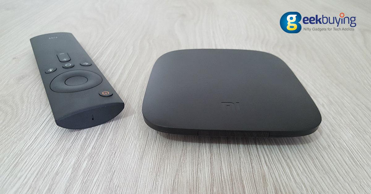 Aniversario de Geekbuying - Xiaomi Mi TV Box