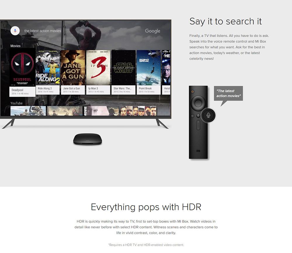 Xiaomi Mi TV Box - Oferta Geekbuying