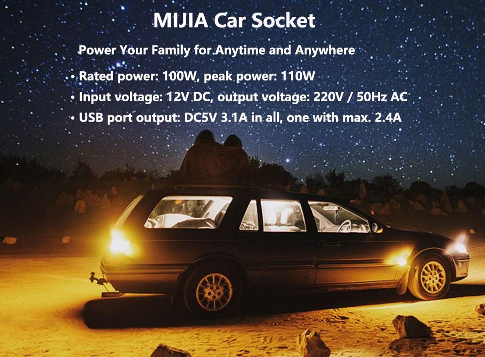 Xiaomi Mijia Power Inverter Car Socket - Características técnicas
