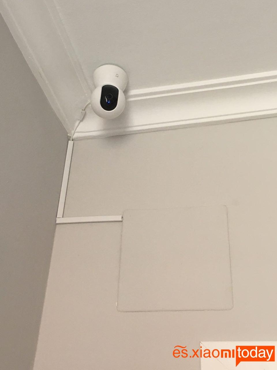 Cámara de vigilancia Xiaomi Mijia Pan Tilt 720P - Métodos de instalación