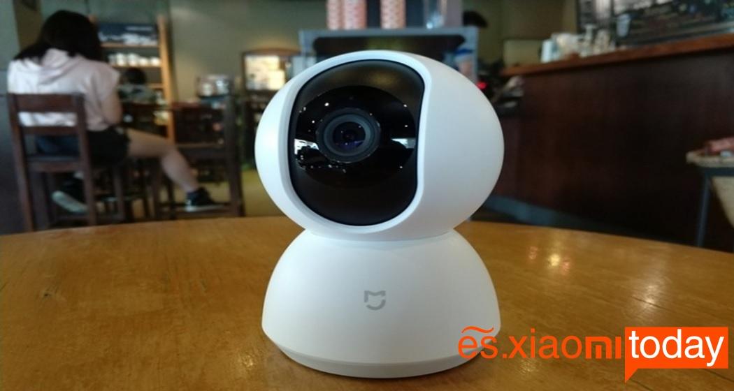 Cámara de vigilancia Xiaomi Mijia Pan Tilt 720P