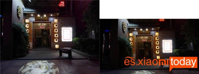 Xiaomi Xiaoyi Yi M1 imágenes nocturnas