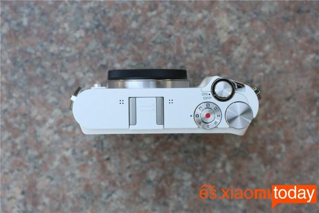 Xiaomi Xiaoyi Yi M1 botones superiores