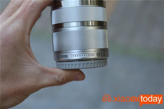 Xiaomi Xiaoyi Yi M1 primer lente