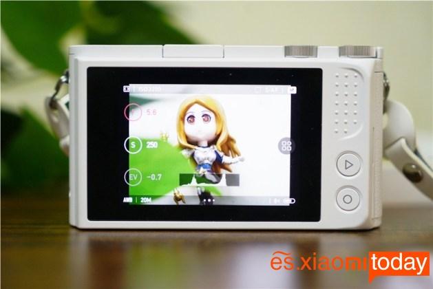 Xiaomi Xiaoyi Yi M1 inicio de pantalla