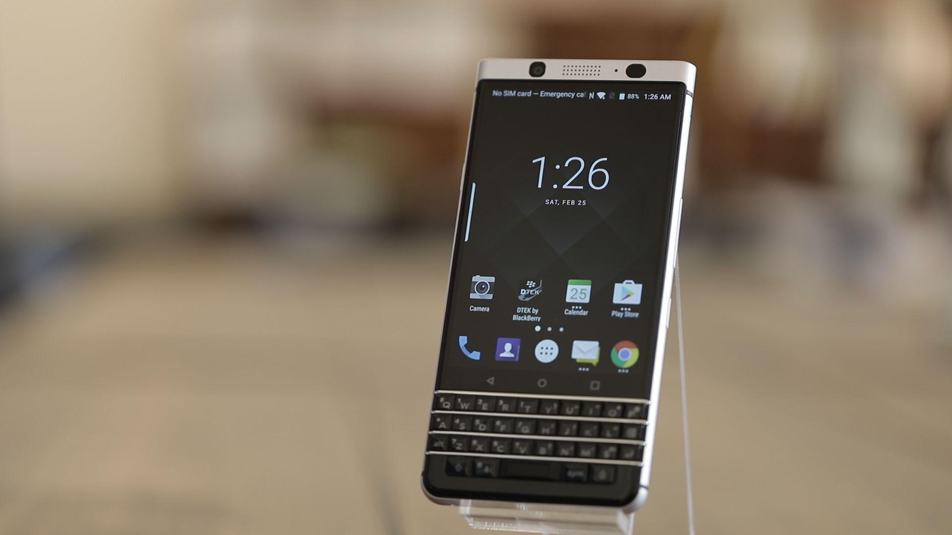 BlackBerry KEYone, un Smartphone que nos presenta un diseño peculiarmente moderno
