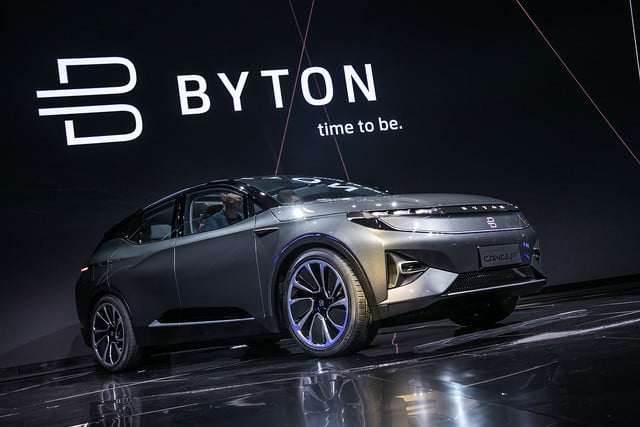 CES 2018: Auto eléctrico Byton - Automóvil futurista