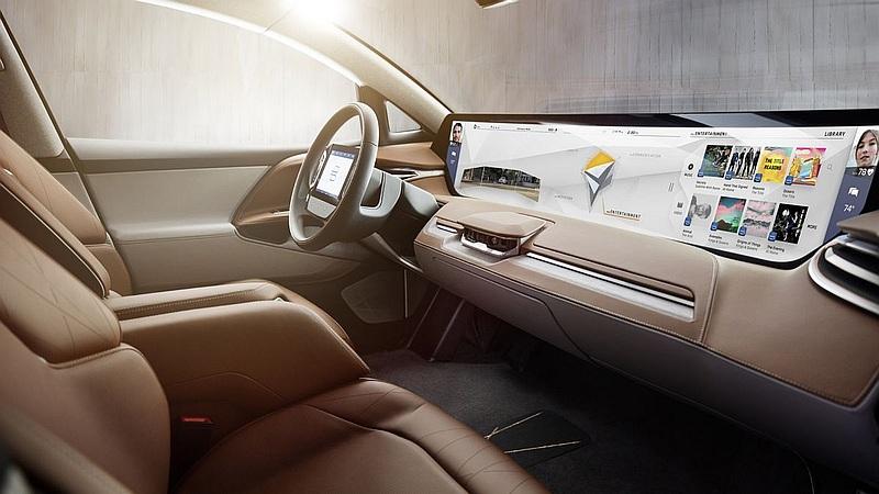 CES 2018: Auto eléctrico Byton - Entretenimiento en carretera