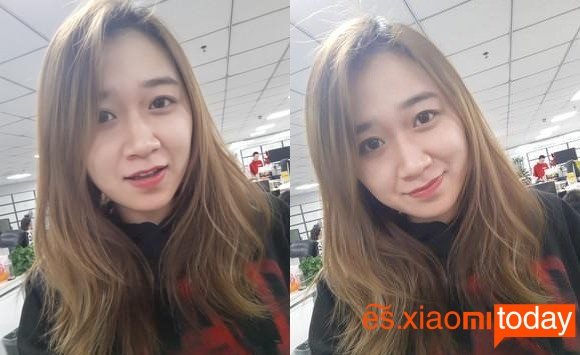 Meizu M6S - Selfie de prueba