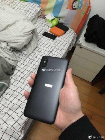 Posibles sensores filtrados del Xiaomi Mi 6X