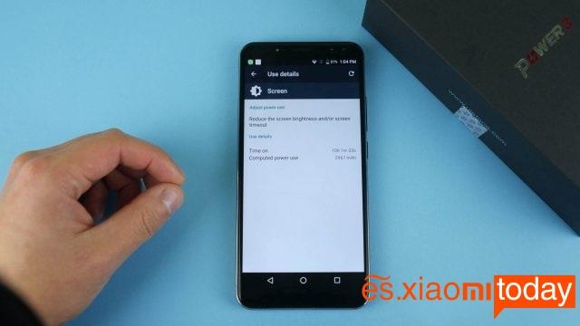 Ulefone Power 3 configuración de pantalla