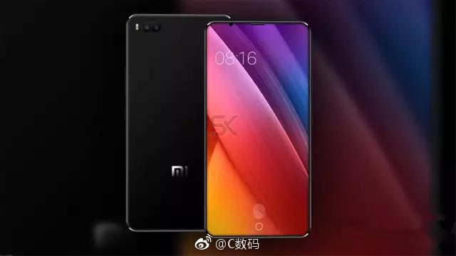 Diseño del Xiaomi Mi 7