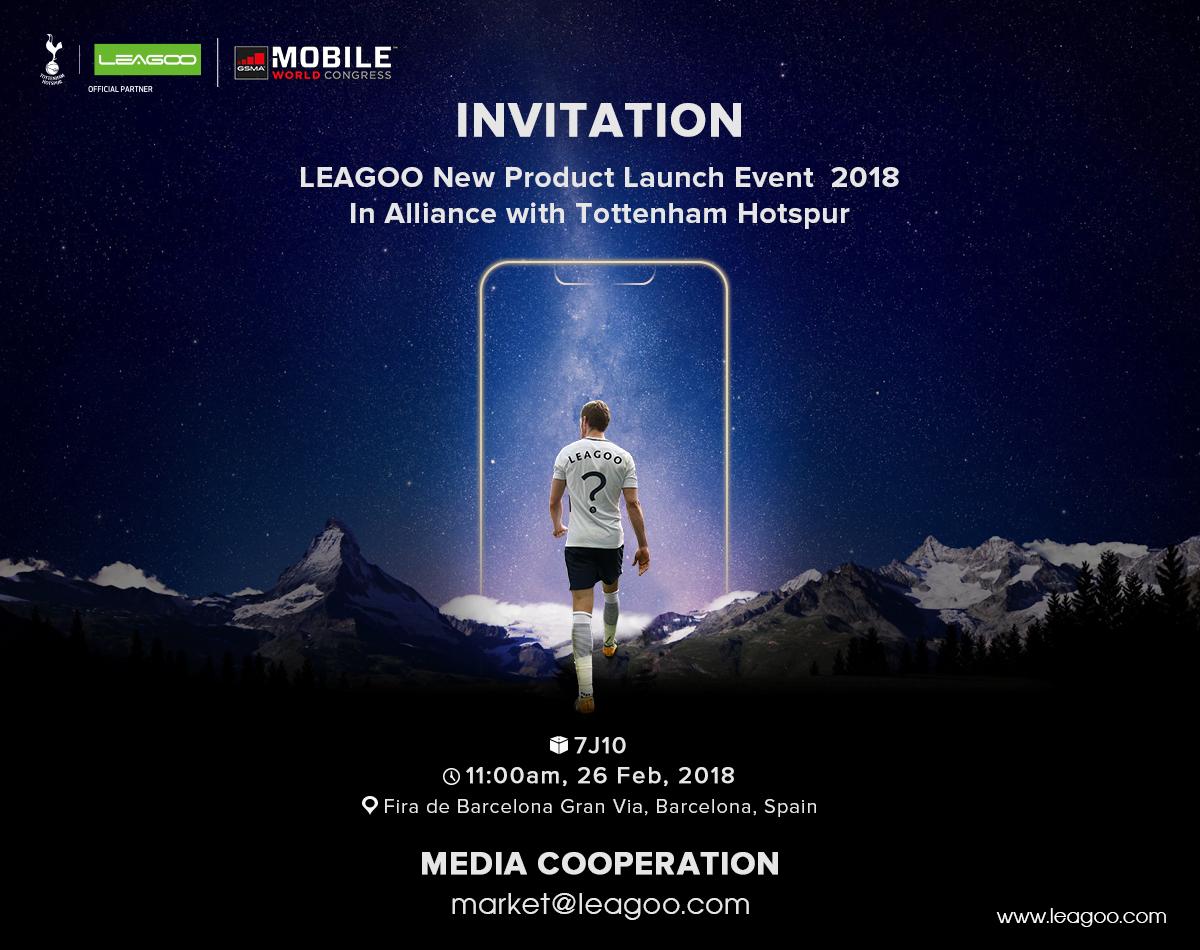 Leagoo S9 y S9 Pro invitación