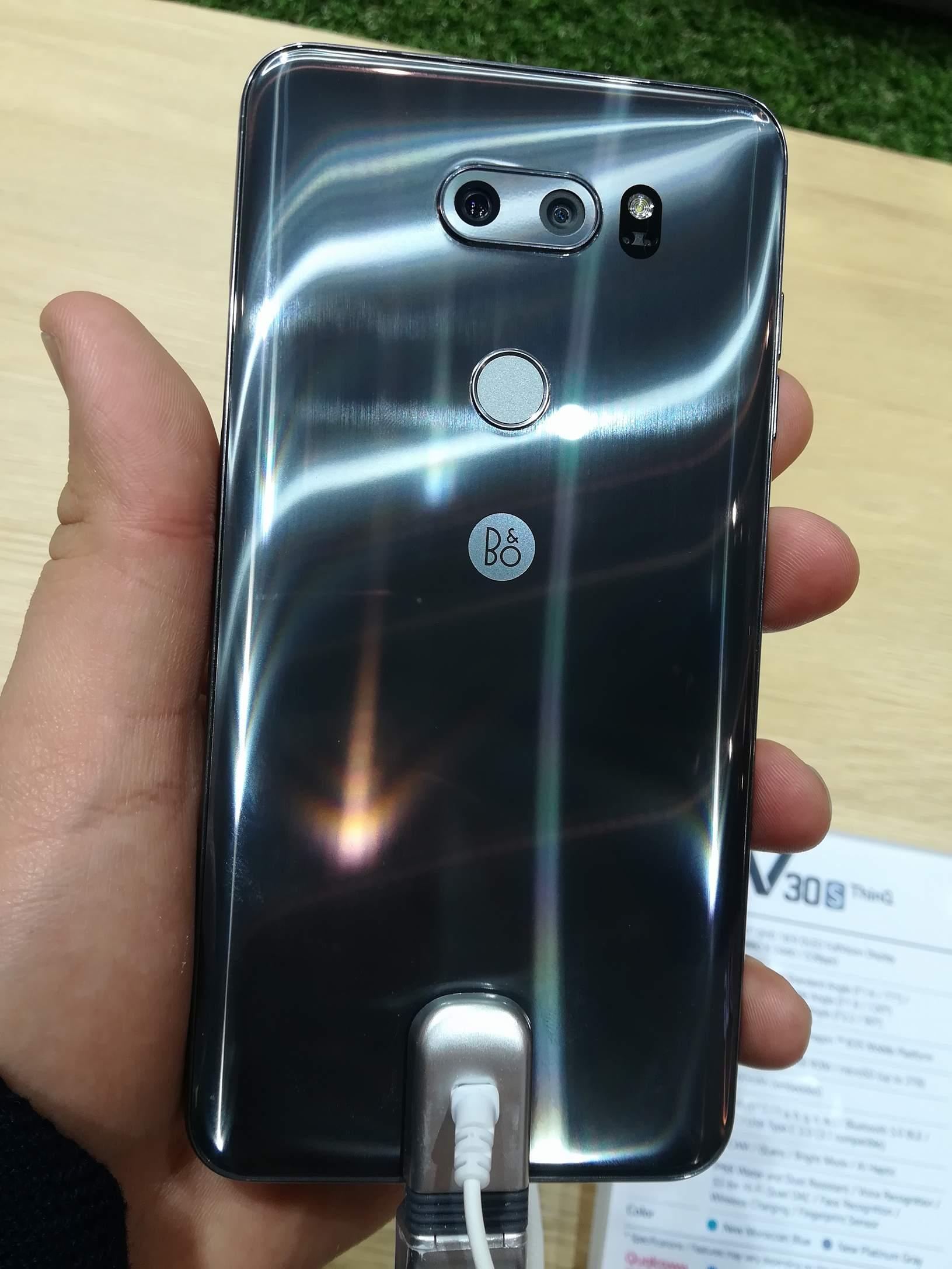 El LG V30S THINQ es un colega más