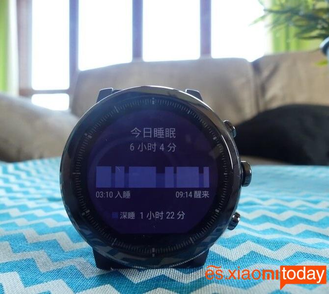 Xiaomi Huami Amazfit 2 - Monitor de sueño