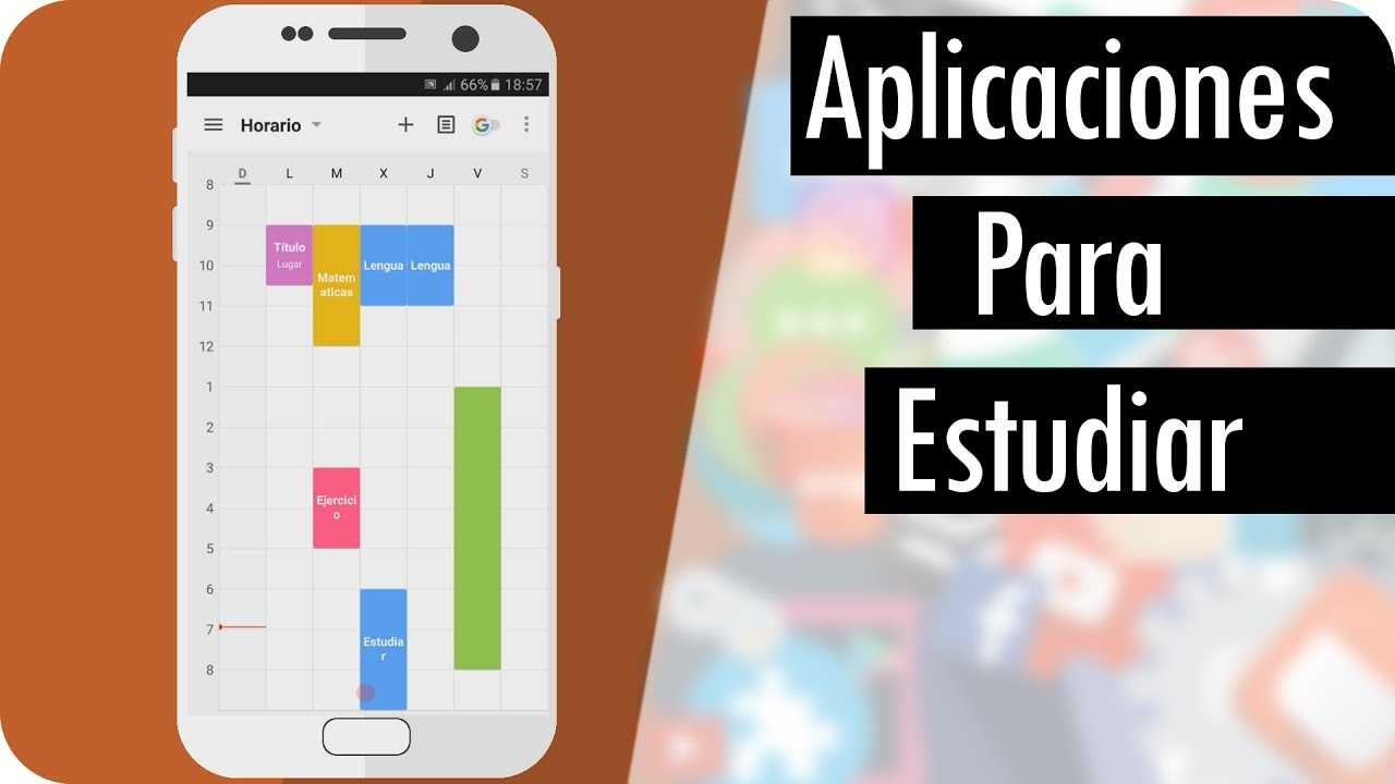 Aplicaciones de Android para estudiantes