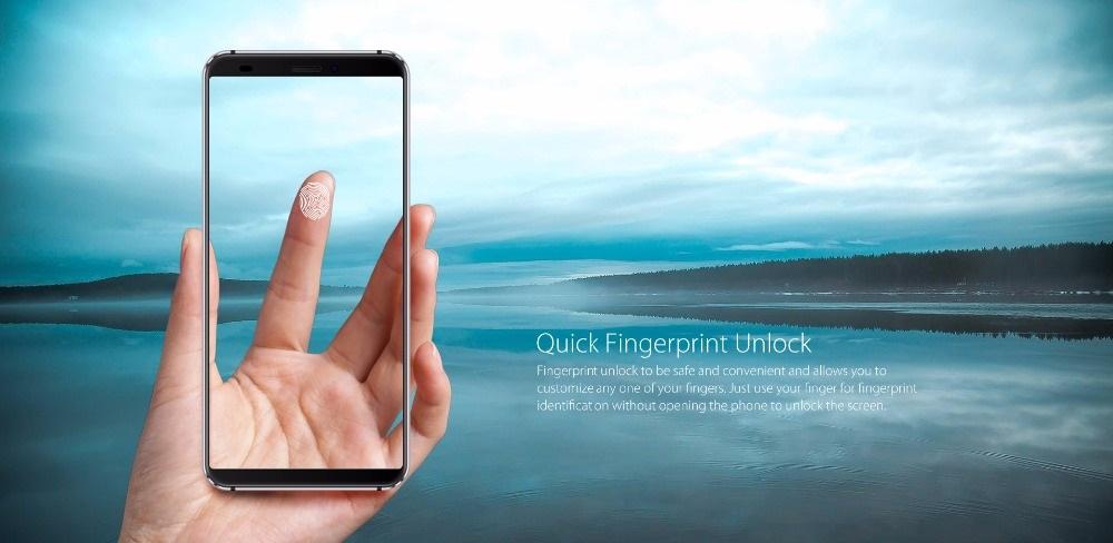 Blackview S6 - Sensor de huellas dactilares