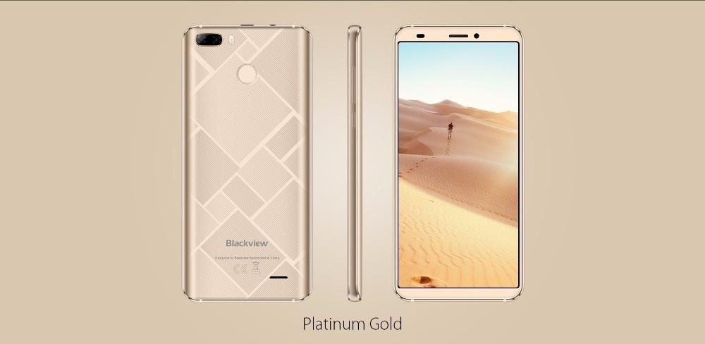 Blackview S6 - Nuevo smartphone con hermoso diseño trasero