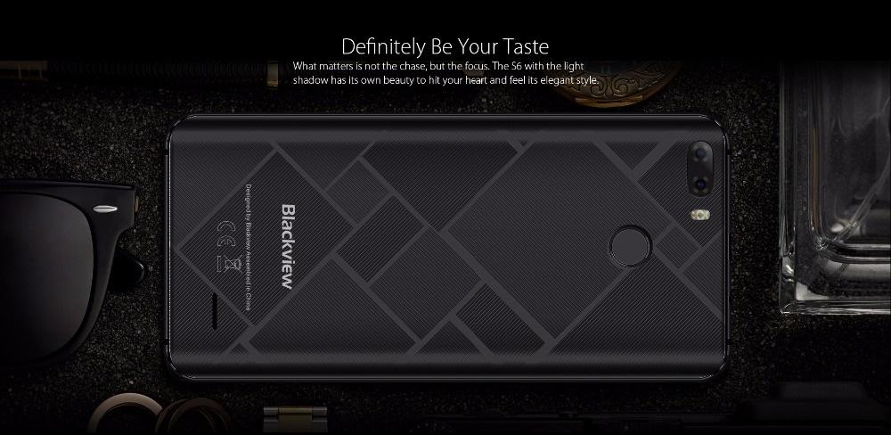 Blackview S6 - Diseño